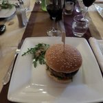 le burger foie gras,canard