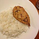 Chicken with White Rice