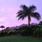 Beginning of a beautiful sunset