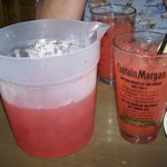 Refreshing rum drink value priced per pitcher!