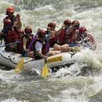 Our raft during the trip!