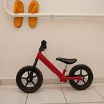 Learning bike - available for rent for families with kids
