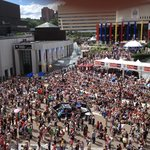 Jazz Fest from Hyatt terrace