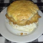 The Cupboard's chicken biscuit