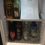 Mini bar selection