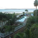 Lap Pool and view to Fraser Island