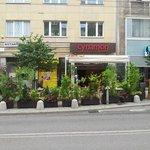 """Street """"garden"""" - outdoor seating"""