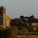 Le château et l'église