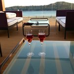 Perfect view for a Kir royale