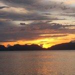 tramonto a palawan