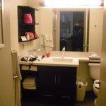 Waschplatz mit Badewanne