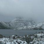 Dove Lake in Winter