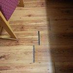 holes in floor