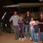 een must, avondbraai in het Kruger Park