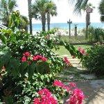 Beautiful Gardens in Front of Inn