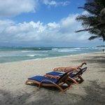 Soft sandy beach - beware of beach boys though