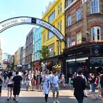 The famous Carnaby street.