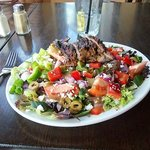 Steak and Greek Salad - $17