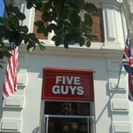 Five Guys here in London!