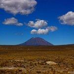 El Misti volcano in Peru.