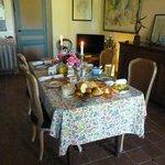 Belle table d'hôtes