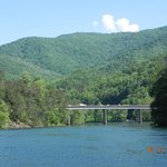 Bridge to Fontana Dam