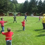 Daily Kids Games led by staff