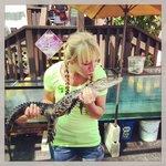 Kissing the Gator