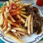 Meatloaf plus side $7.99
