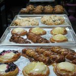 Fresh danish & pastries daily