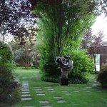 jardim de esculturas