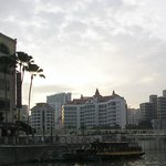 Park Hotel Clarke Quay; view from Singapore river