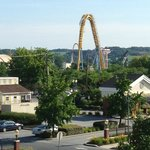 View of Hershey park from my room