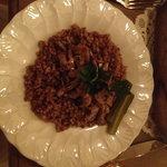 Beef Stroganoff with buckwheat
