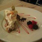 Tasty desert at the Ship Inn