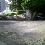 estacionamiento amplio