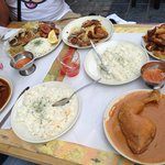 4 persons meal