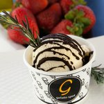 Olive Oil w. Lemon Zest - Local Chef Gelato Competition