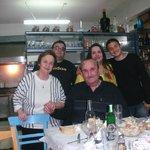 Her er hele familien på Zorba samlet. En herlig gjeng!!!