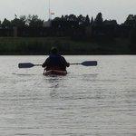 Kayaking on Ice Lake