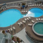 Pools from poolside room