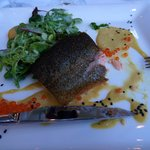 Delicious Main Course of Salmon