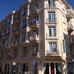 Hotel from Rue Berlioz