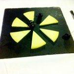 Manchego cheese starter