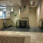 Harrahs Hotel New Orleans - Underground Walkway to Casino