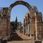 Anjar ruins