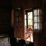Nuestra habitación con balcón