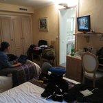 Quad, room 22, faces street