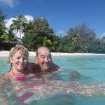 Enjoying Aroa Marine Reserve