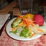 I was so happy to get a pickled egg at the salad bar, and it was perfect!